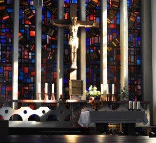 Raum für Stille, Gebet, Gottesdienste: Kapelle des Walburgisgymnasiums (Foto: SMMP/Hentrich)