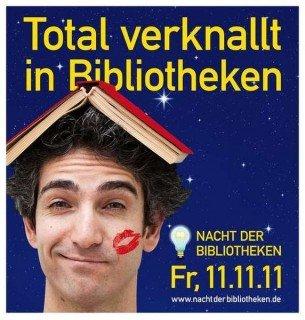 """WBG-Schüler sind dabei: """"Nacht der Bibliotheken"""" am 11.11.2011 in NRW (Foto: www.nachtderbibliotheken.de)"""