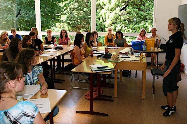 Training für die Praxis im Workshop für Scouts mit Spezialisten für Sprachpädagogik (Foto: www.sprache-verbindet.de)