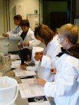 """""""Tag der Chemie"""" der Bayer Schering Pharma AG 2008: Das WBG-Team der Jahrganngsstufe 6 (Foto: WBG/Kuhlmann)"""