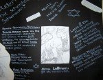 Schicksale Mendener Juden - Plakat eines Projektteams der Klasse 8a im Schuljahr 2008/2009 (Foto: SMMP/Hentrich)