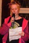 Mona Dierkes (10) hatte die Idee zum Projekt des Poetry Slam (Foto: WBG/Kuhlmann)