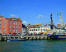 Der Hafen von Poole (Foto: WBG)