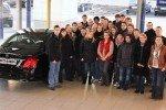 Die Management-AG im Autohaus Rosier (Foto: Rosier)