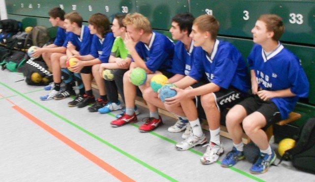 Blick nach vorn: Die Handball-Mannschaft hat das WBG in diesem Schuljahr erfolgreich vertreten. (Foto: WBG/Wülle)