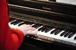 Musikalische Begleitung des Schulgottesdienstes (Foto: SMMP/Hentrich)