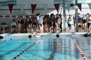 Erfolg für die Schwimmer des WBG: Zweite und dritte Plätze bei den Schulkreismeisterschaften in Iserlohn (Foto: WBG/Scheidt)