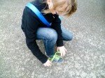Kurz Schuhe binden, dann geht es weiter. (Foto: SMMP/Hentrich)