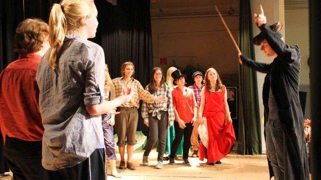 OLIVER! Das Musical - Szenenfoto von der Intensivprobe am 1. Juni 2012 (Foto: WBG/Hartmann)