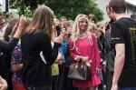 Paris Hilton - souverän im Interview. (Foto: SMMP/Hentrich)