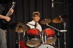 """Abschied: Zum letzten Mal als """"Schüler"""" des WBG am Schlagzeug der Soulband. (Foto: SMMP/Hentrich)"""