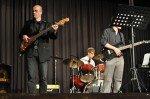 Die Soulband unter der Leitung von Christian Becker begleitet die Abiturfeier musikalisch. (Foto: SMMP/Hentrich)
