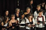 """Der Schulchor singt Filmmusik: """"Moon River"""". (Foto: SMMP/Hentrich)"""