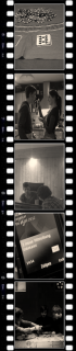"""Filmszenen des Literaturkurses """"Video"""" 2012, die am 30.06. am WBG präsentiert werden. (Foto: WBG/Jaeger)"""