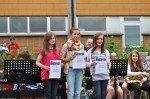 Sportlicher Erfolg: 3. Platz im Mendener Schülerlauf und 100 Euro für das WBG. (Foto: SMMP/Hentrich)