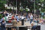 Herr Hagedorn leitet seit Jahresbeginn die BigBand des WBG und absolvierte mit ihr seither viele öffentliche Auftritte. (Foto: SMMP/Hentrich)