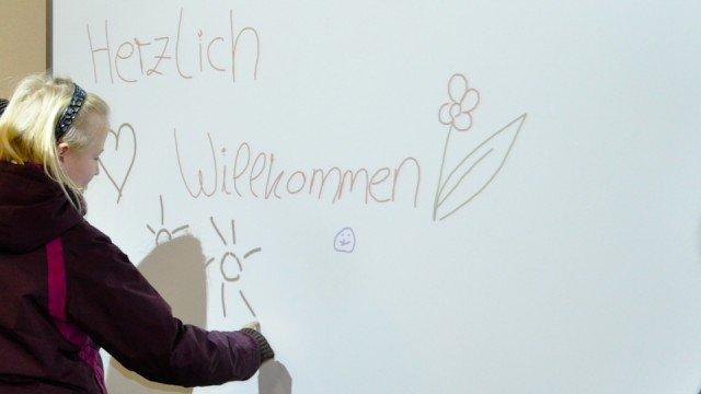 Informationsangebote des WBG für die Anmeldungen zum Schuljahr 2013/2014 (Foto: SMMP/Sr. Johanna Hentrich)