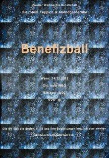 Plakat 2. Weihnachtsbenefizball des WBG (Foto: SMMP/Hentrich)