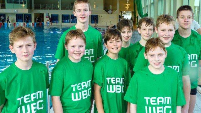 Unsere Jungenmannschaft bei den Schulkreismeisterschaften 2014 (Foto: N. Scheidt/SMMP)