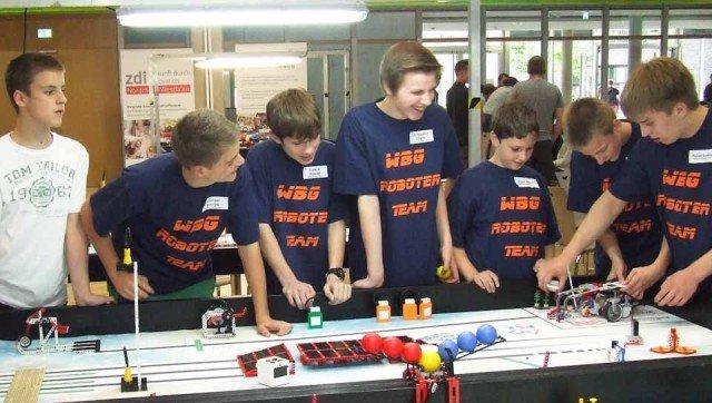 zdi-Regionalwettbewerb NRW in Meschede - Attraktivundpreiswert_Junior1 des WBG (Foto: WBG/Peters)