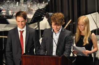 Rede der Abiturienten (Foto: Sr. Johanna Hentrich)