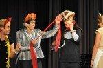 Spektakulärer Auftritt der LK-Lehrer.(Foto: SMMP/Sr. Johanna Hentrich)