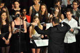 """""""Thank you for the music"""" - Ausschnitt aus """"Mamma Mia"""". (Foto: SMMP/Sr. Johanna Hentrich)"""