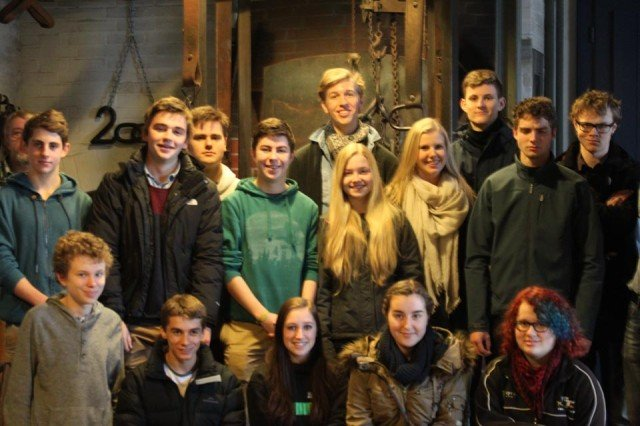 Schülergruppe aus Adelaide (Foto: SMMP/Cornelia Sauer)