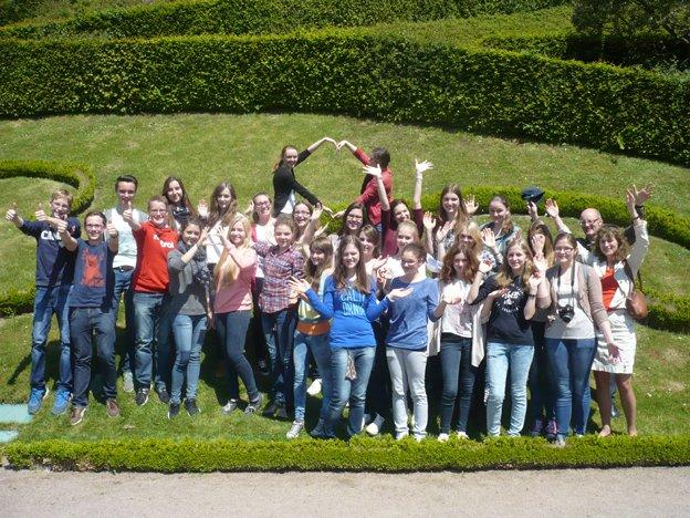 Eine Woche gute Laune beim Schüleraustausch in Fougères (Foto: T. Großerhode/ SMMP)