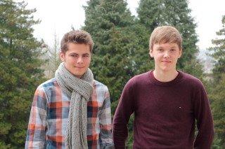 Julian Kutsche und Tom Janßen (Foto: C. Scholz/SMMP)