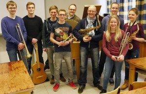 Die WBG-Bigband (Foto: H. Hagedorn, privat)