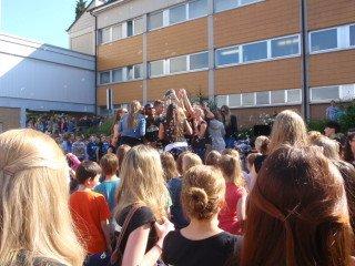 Hurra - Abitur! (Foto: Lügger/SMMP)