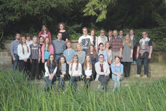 Unser Schulchor im Jahr 2015 (Foto: C. Scholz/SMMP)