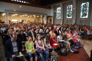 Die Walburgiskirche war bis auf den letzten Platz besetzt. (Foto: C. Scholz/SMMP)