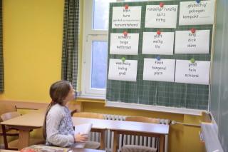 Schnupperunterricht im Fach Deutsch (Foto: C. Scholz/SMMP)