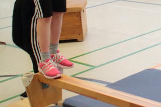 Start zum Staffellauf auf dem Geschicklichkeitsparcours (Foto: C. Scholz/SMMP)