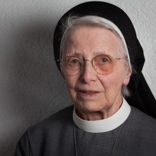 Sr. Christa Maria Henninghaus verstarb am Donnerstag im Bergkloster Bestwig im Alter von 90 Jahren. Foto: SMMP/Beer