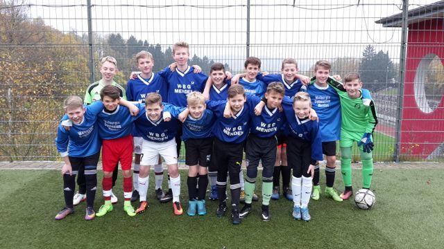 Die Fußballmannschaft des WBG kann stolz sein. (Foto: Klapper/SMMP)