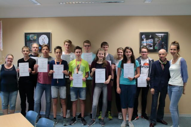 Unsere Medienscouts (Foto: May,Richter/SMMP)