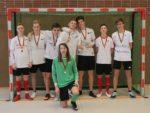 """Erster Platz im Sek-II-Turnier für """"Barfuß zum Sieg"""" (Jahrgang EF) (Foto: C. Scholz/SMMP)"""