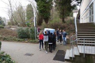 Ein weiter Weg bis zum Schulhof (Foto: Lügger/SMMP)