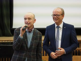 m Februar 2019 besuchte Landtagspräsident André Kuper die Schule.Foto: SMMP/Christoph Scholz