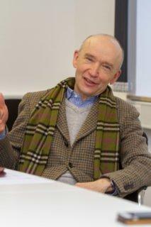 Dr. Eduard Maler betont, dass man den Prozess der Digitalisierung immer schon untrer pädagogischen Gesichtspunkten gesehen habe. Foto: SMMP/Ulrich Bock