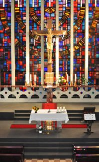 Raum für Stille, Gebet, Gottesdienste: Kapelle der Schulen (Foto: Hentrich)